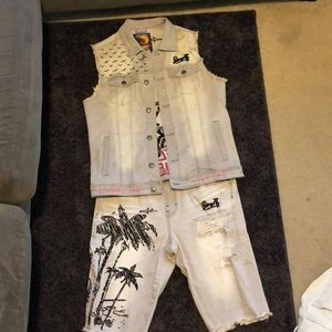 Born Fly men's jean outfit